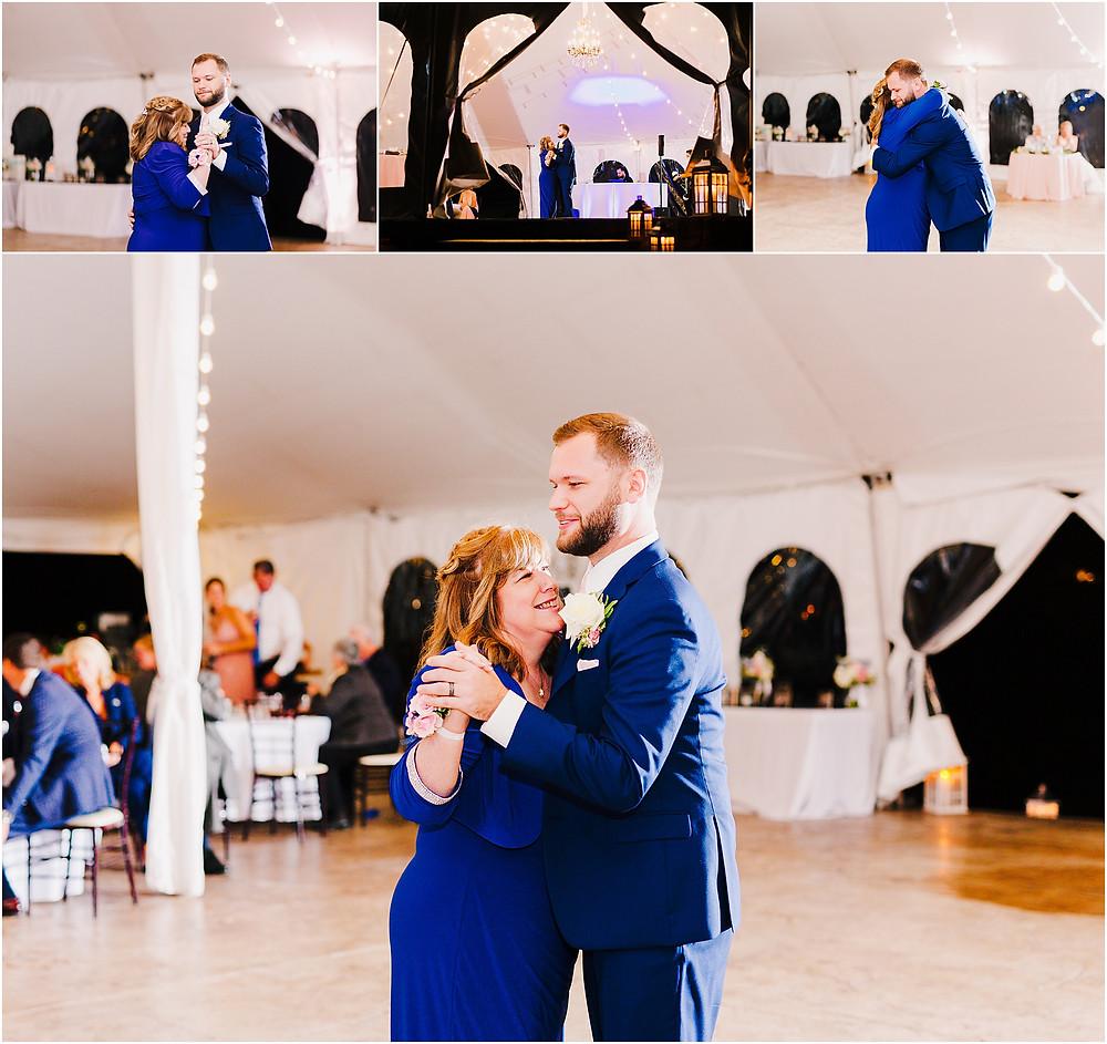 Wedding Reception at Bohemia Overlook Wedding Baltimore Wedding Photographer