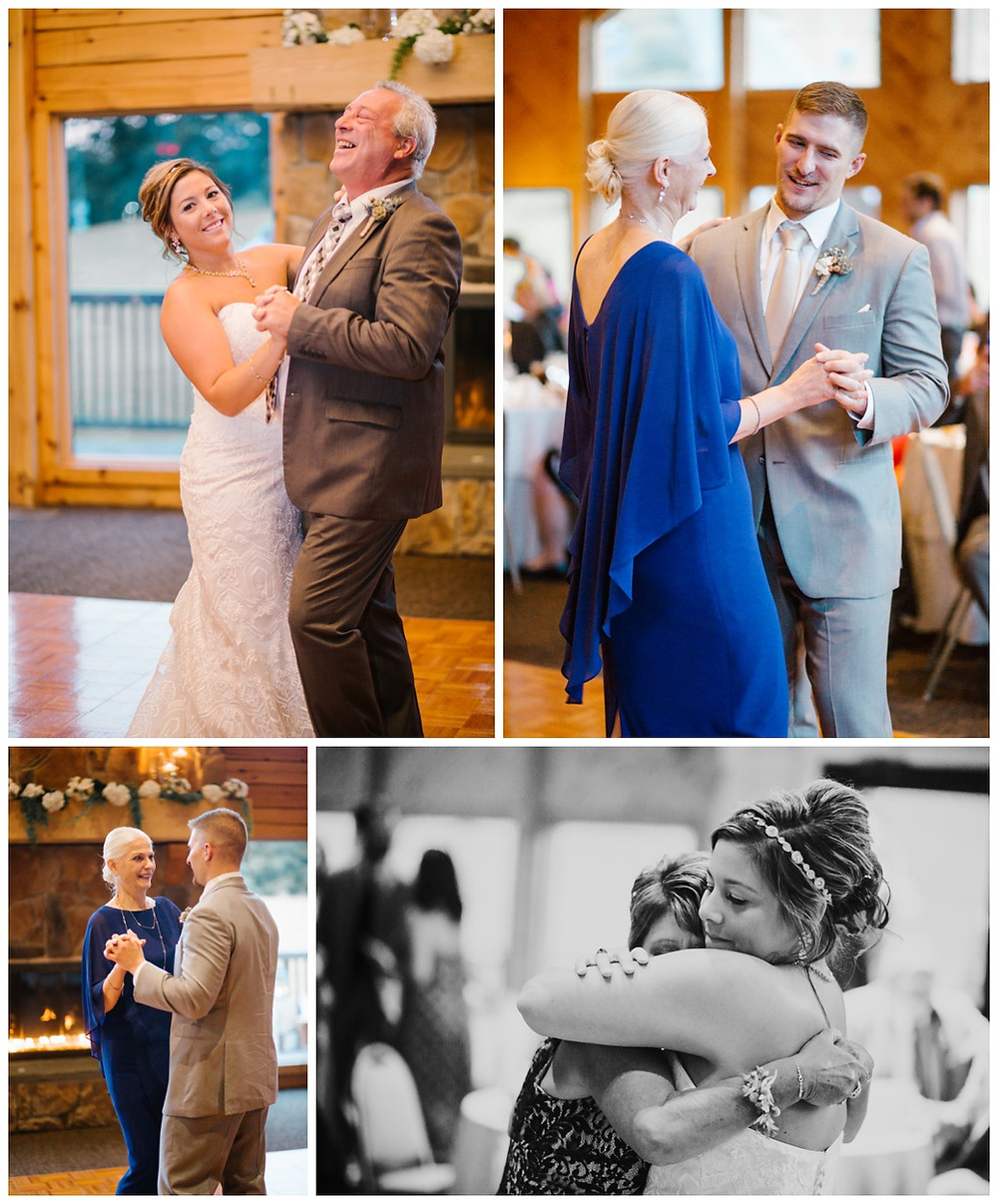Parent Dances - Liberty Mountain Boulder Ridge Lodge Wedding - Maryland Wedding Photographer - Katherine Elizabeth Photography
