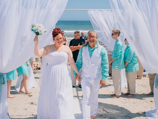 Spring Beach Wedding - Kyleen and Frank - Myrtle Beach, SC