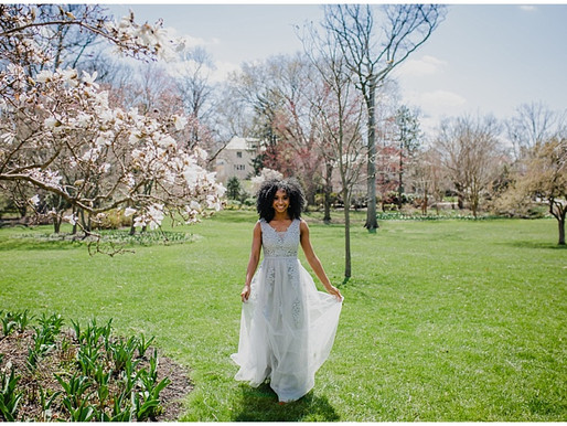 Feature Friday | Our Love In Color | Spring Cherry Blossoms in Baltimore