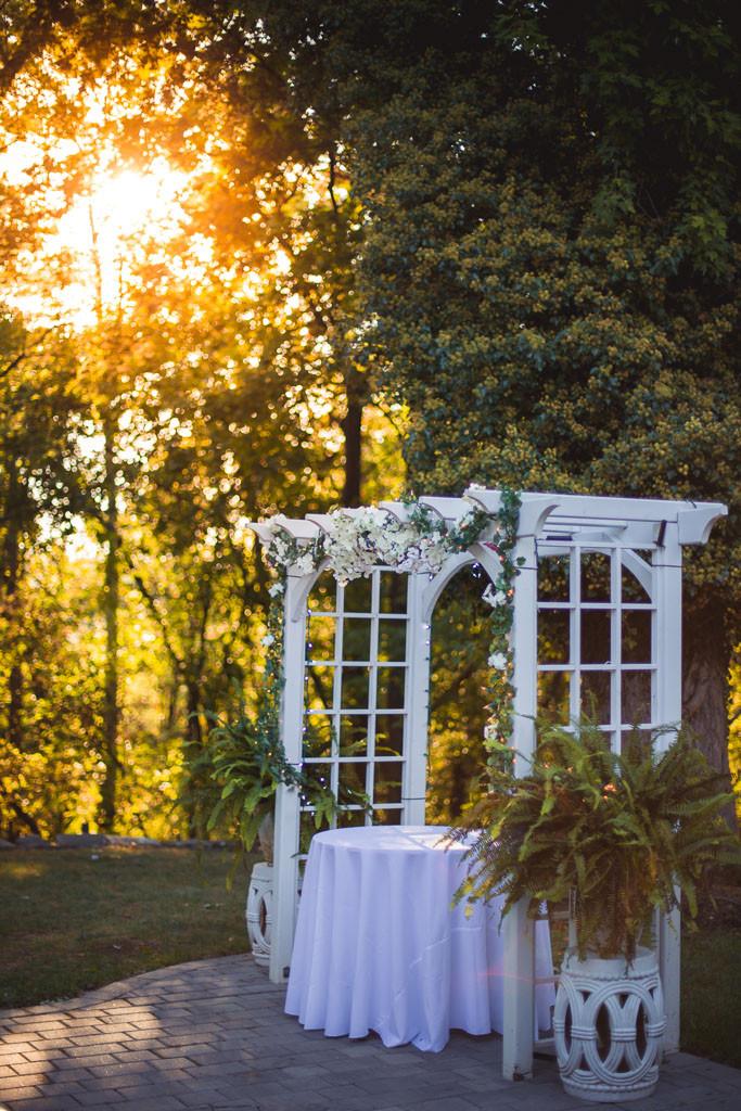 Overhills Mansion Golden LIght Baltimore Wedding