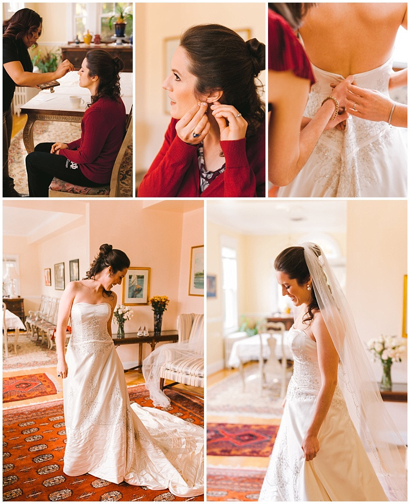 Bride Getting Ready Suite