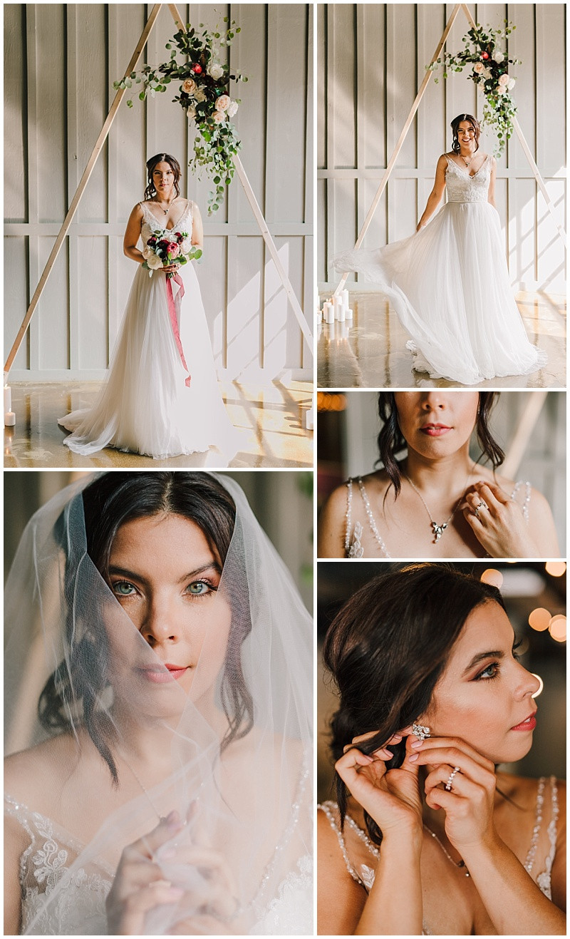 Romantic Bridal Portraits