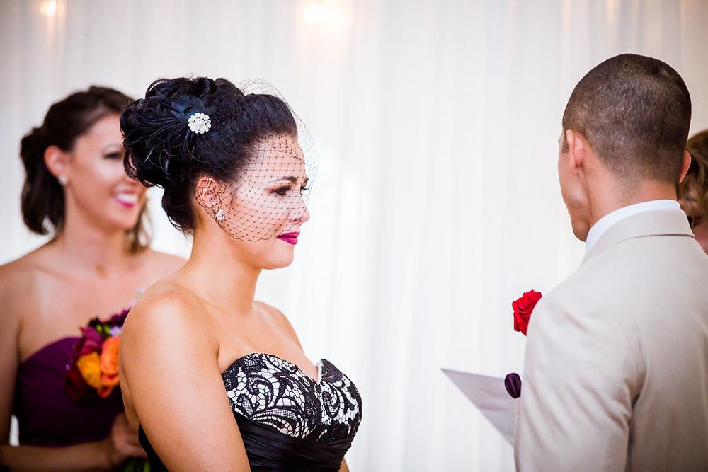 Exchanging of vows Baltimore Wedding
