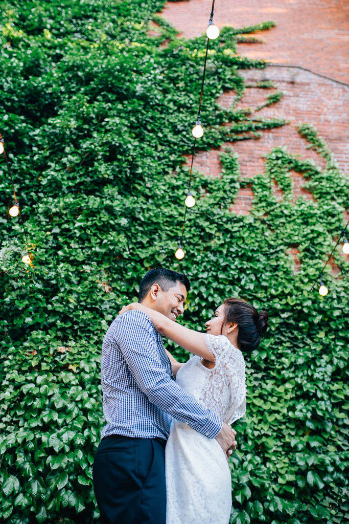 VOLT Restaurant Engagement Session - Frederick Wedding Photographer - Katherine Elizabeth Photography