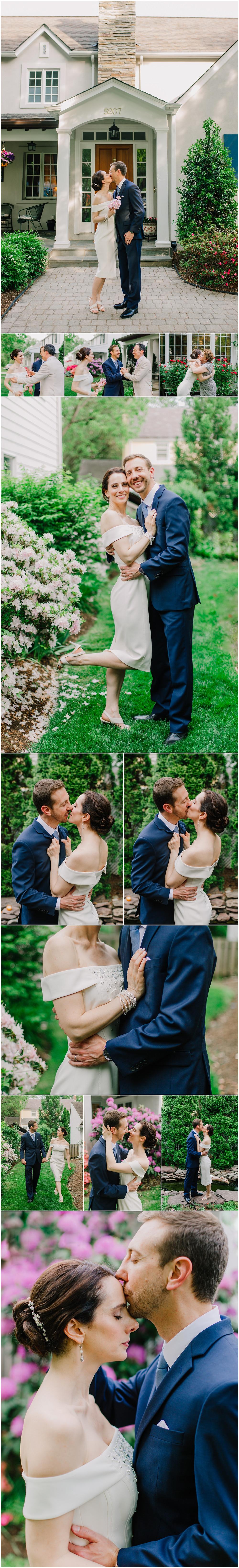 Intimate Maryland Spring Wedding Portraits - Maryland Wedding Photographer
