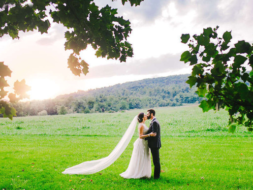 Whitehall Estates Wedding Featured in Love and Lavender