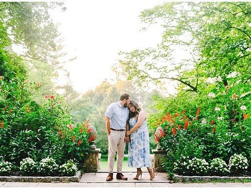 Gramercy Mansion Engagement Portraits | Sara + Bradley | Baltimore Wedding Photographer