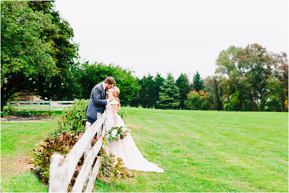 Romantal wedding portraits at Rosewood Farms