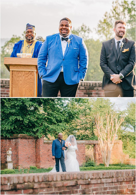 Ceremony - Oxon Hill Manor Wedding