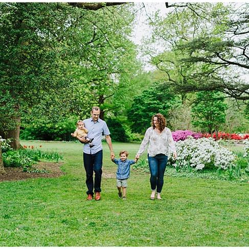 Sherwood Gardens Portraits | The Warfield Family | Baltimore Portrait Photographer