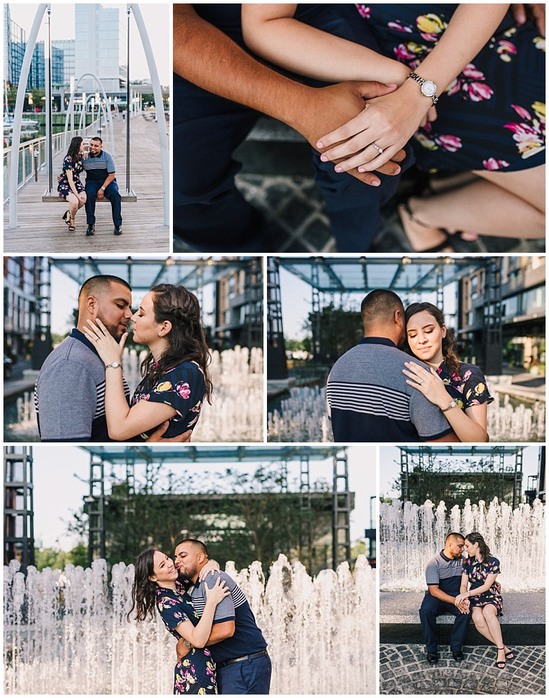 The Wharf Engagement Session