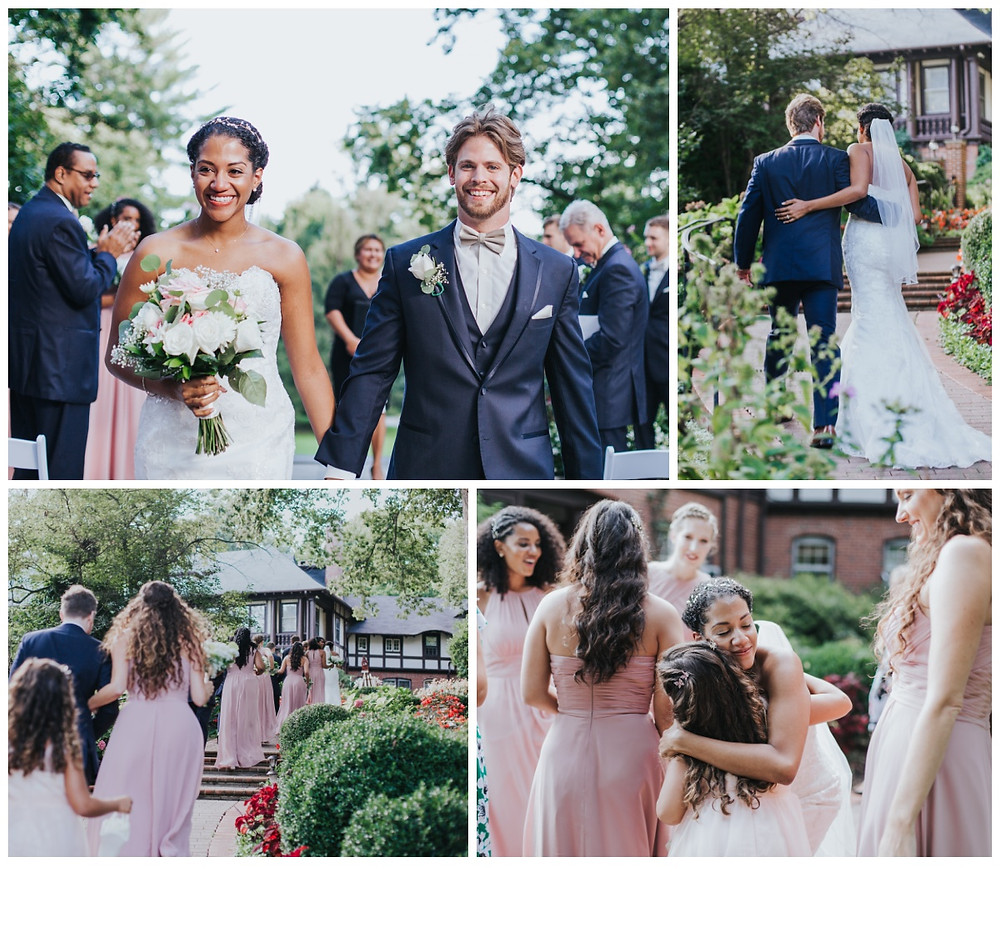 Following the vows at Gramercy Mansion by Katherine Elizabeth Photography