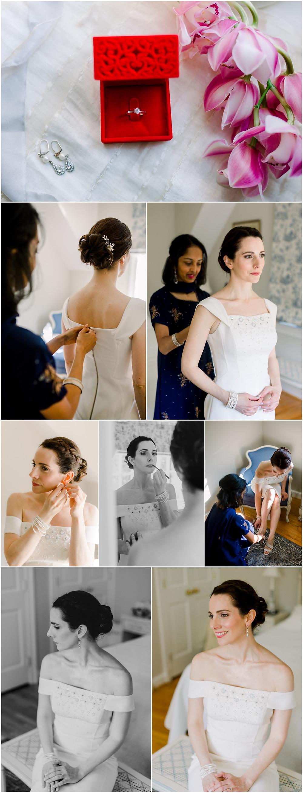 Classy intimate Maryland backyard wedding - DC Wedding Photographer