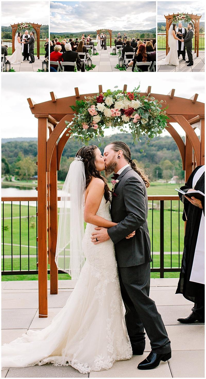 Highland Lodge Outdoor Wedding