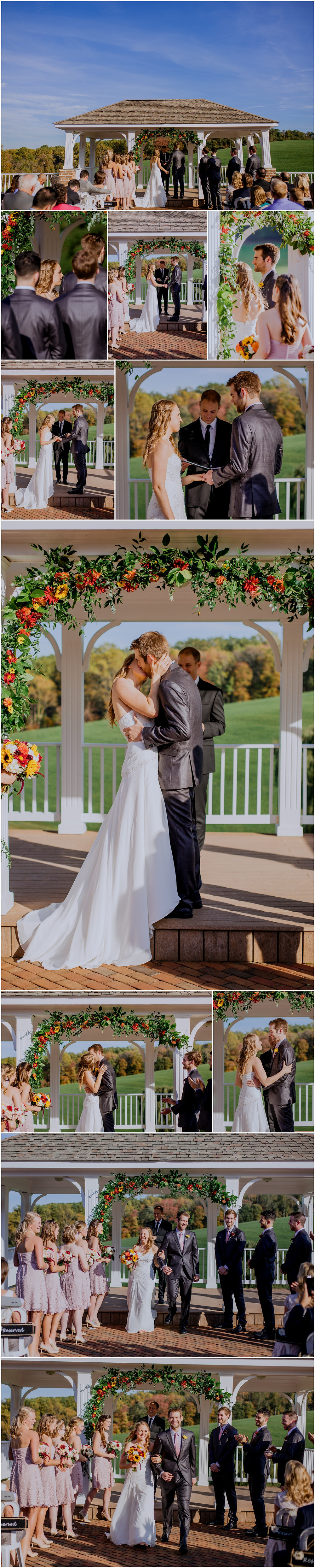 Morningside Inn Wedding Ceremony, Frederick Maryland