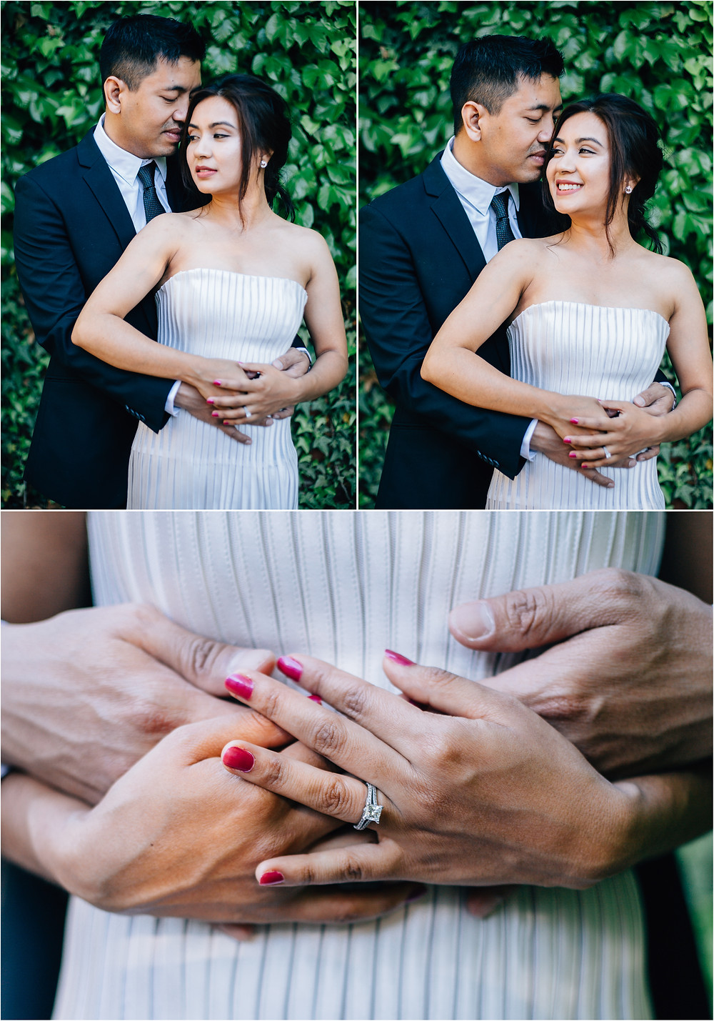 Spring Engagement Session - Frederick Wedding Photographer - Katherine Elizabeth Photography