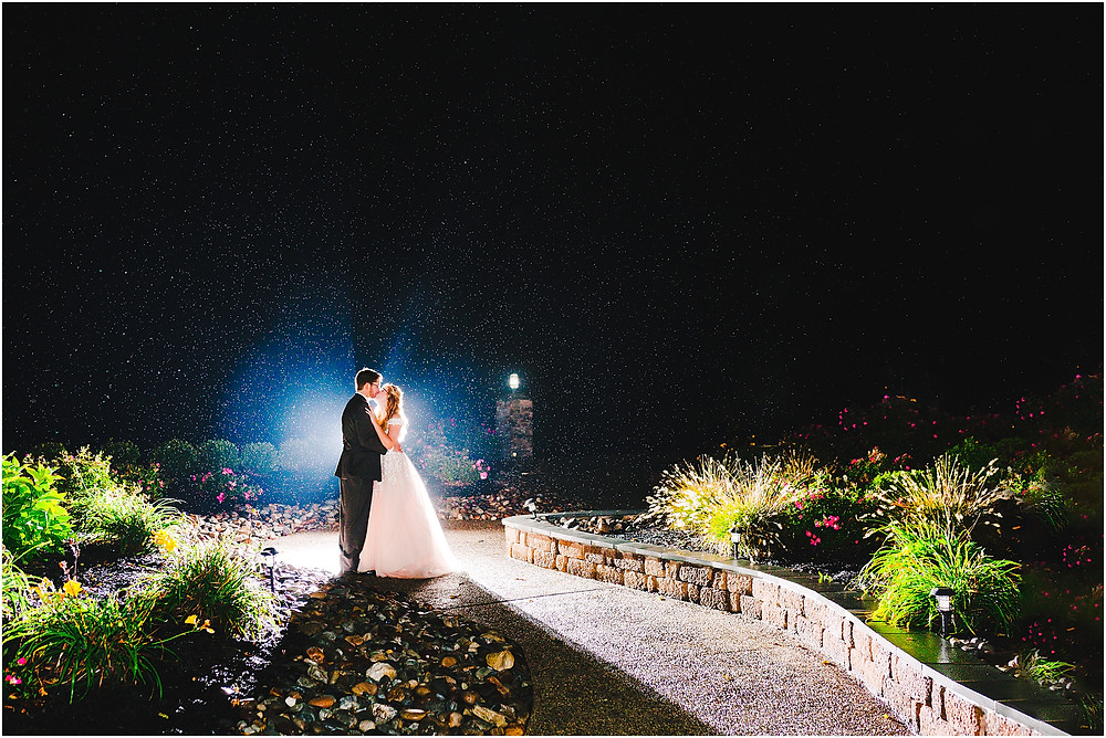 Night Portraits at Rosewood Farms Wedding. Maryland Wedding Photographer