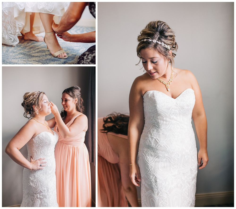 Bride Getting Ready - Liberty Mountain Wedding - Katherine Elizabeth Photography