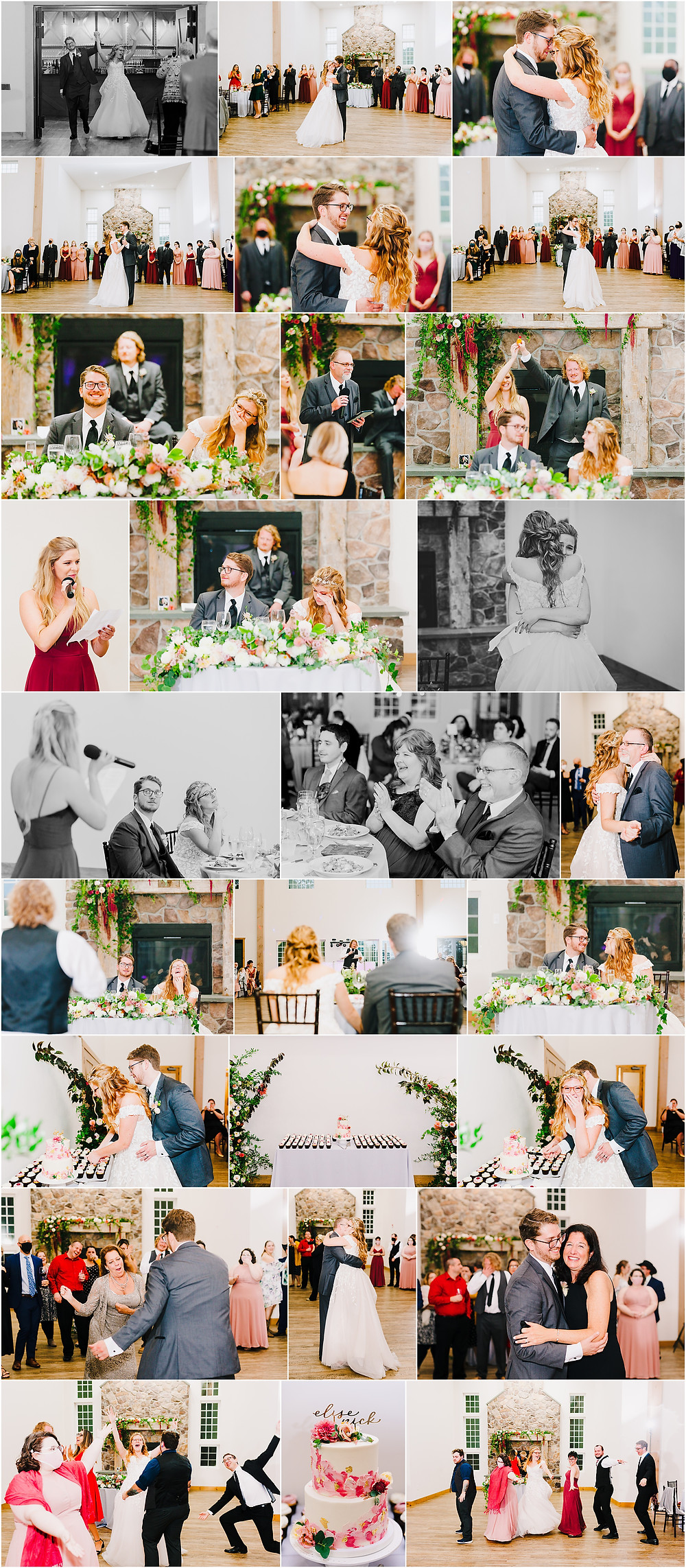 Rosewood Farms Wedding Reception Baltimore Wedding Photographer