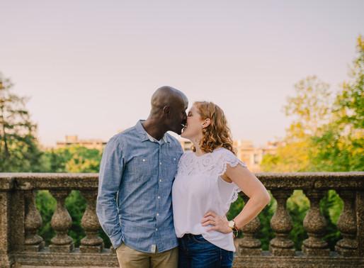 Meridian Hill Park Engagement | Melissa + Michael | Washington D.C. Wedding Photographer