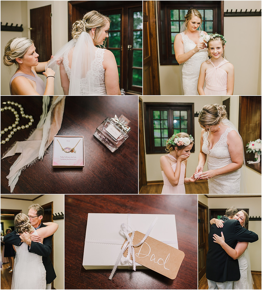 Special Wedding Day Gifts - Gambrill State Park - Frederick Maryland Wedding Photographer