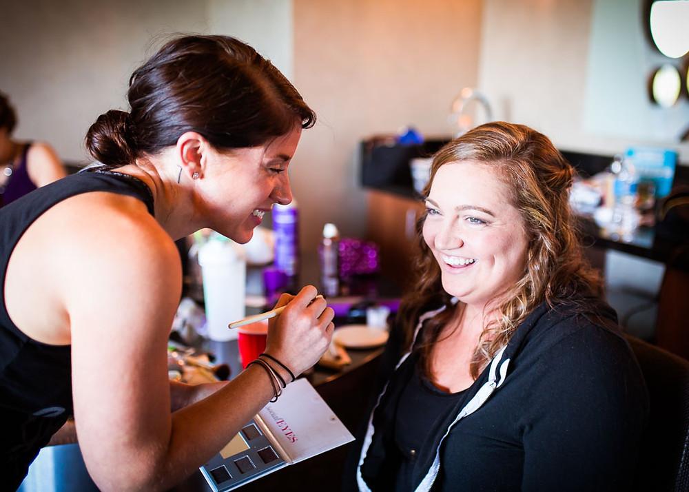 Bridal Preparation Baltimore Wedding