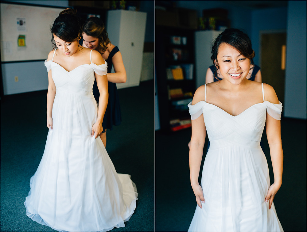 Casual Baltimore Wedding - Getting Ready - Baltimore Wedding Photographer