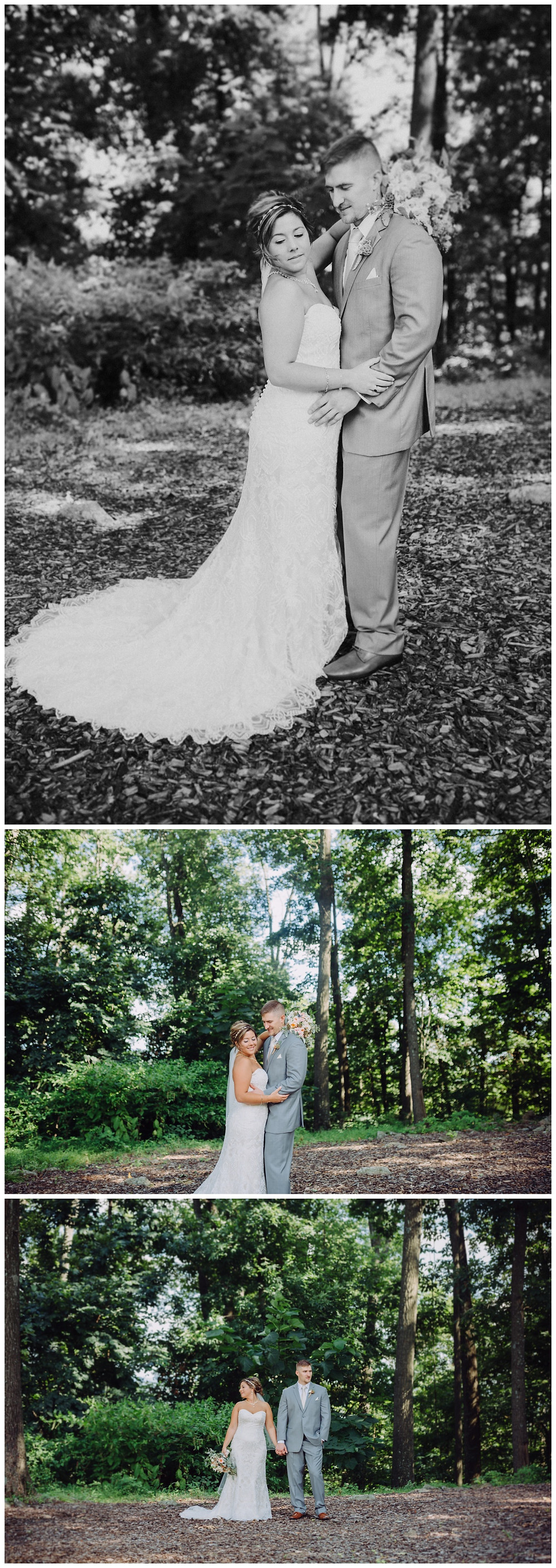 Forest Bridal Portraits - Annapolis Wedding Photographer- Katherine Elizabeth Photography