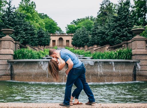 D.C. and Meridian Hill Engagement | Sarah + Christian | Maryland Wedding Photographer