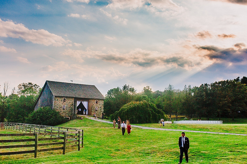 Stone Barn at Sylvanside Farm, Maryland Wedding Photographer