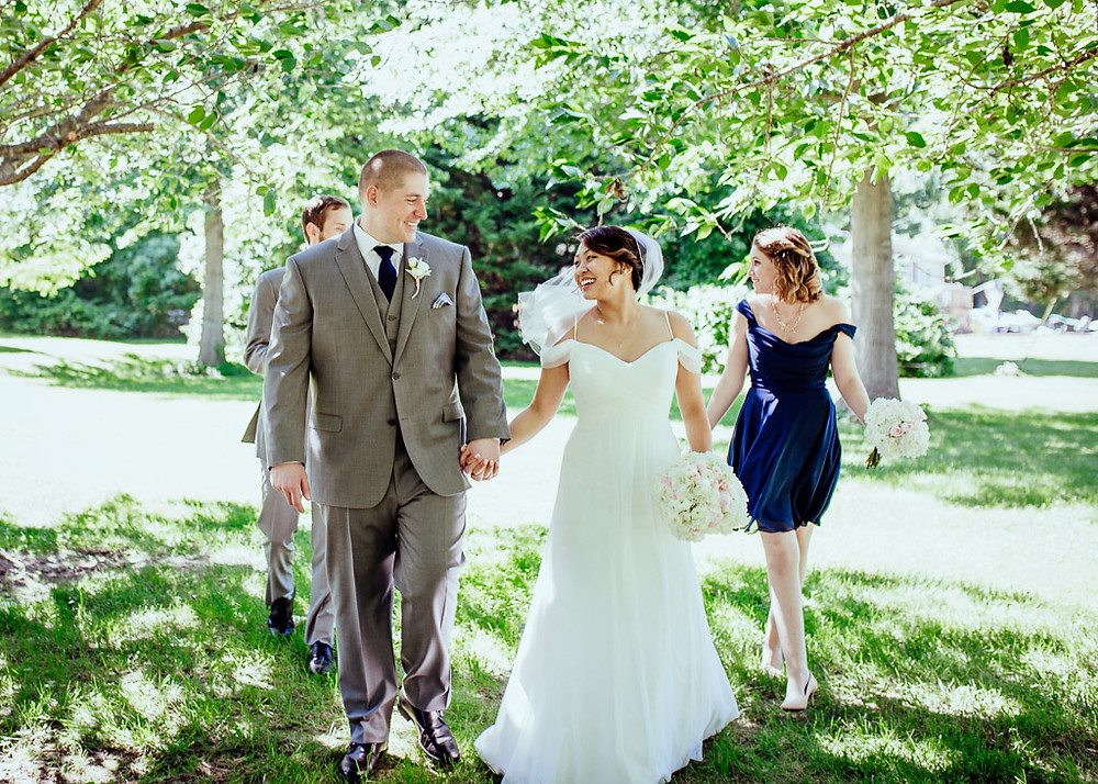 Baltimore Wedding - Small Bridal Party - Baltimore Wedding Photography