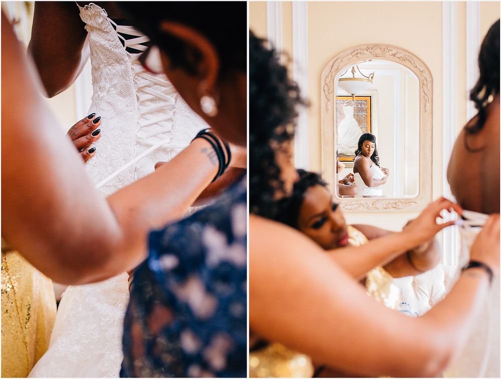 Elegant Bride Getting Ready - Annapolis Wedding Photography