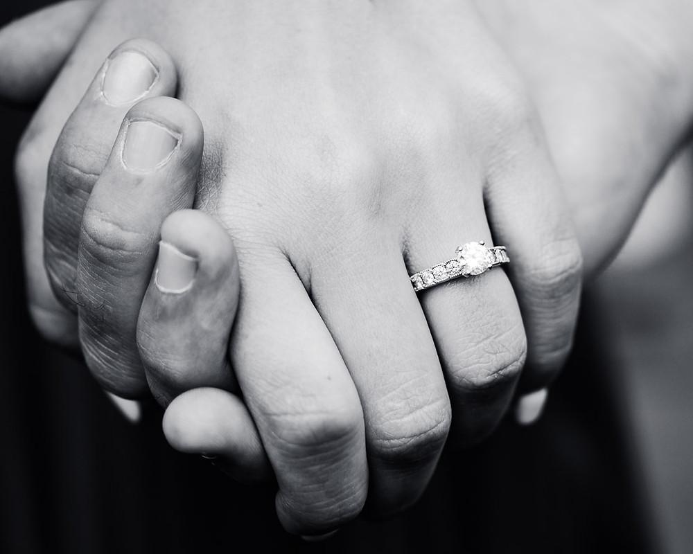 Holding Hands - Baltimore Maryland Photographer - Katherine Elizabeth Photography