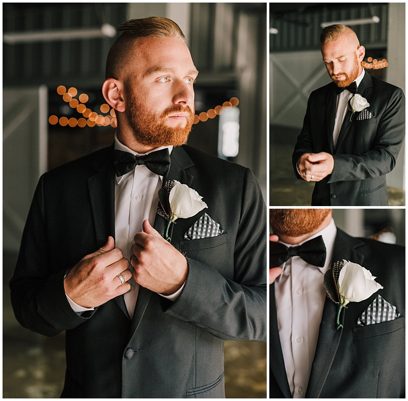 Groom Getting Ready Portraits