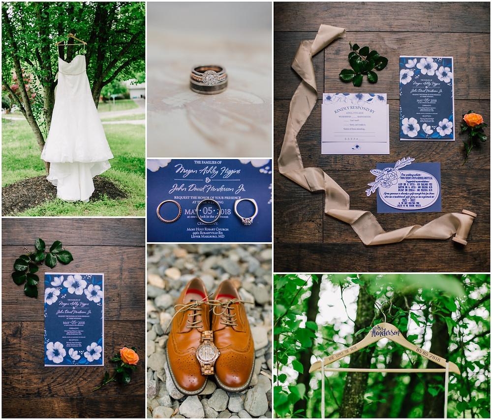 Cinco de Mayo Wedding Details - Annapolis Wedding Photography
