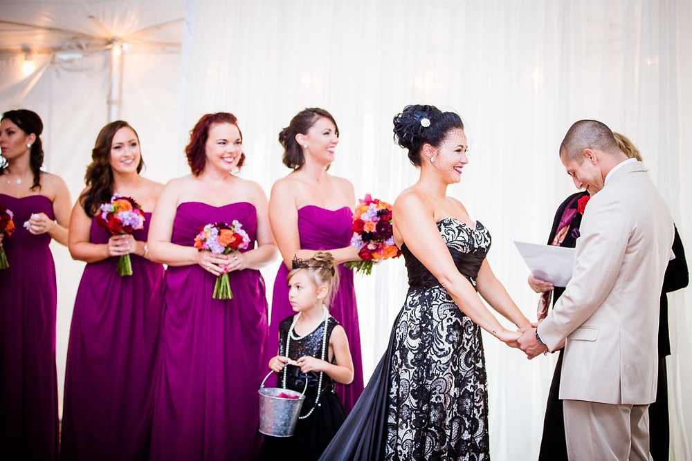 Edgy Baltimore Wedding Day Ceremony