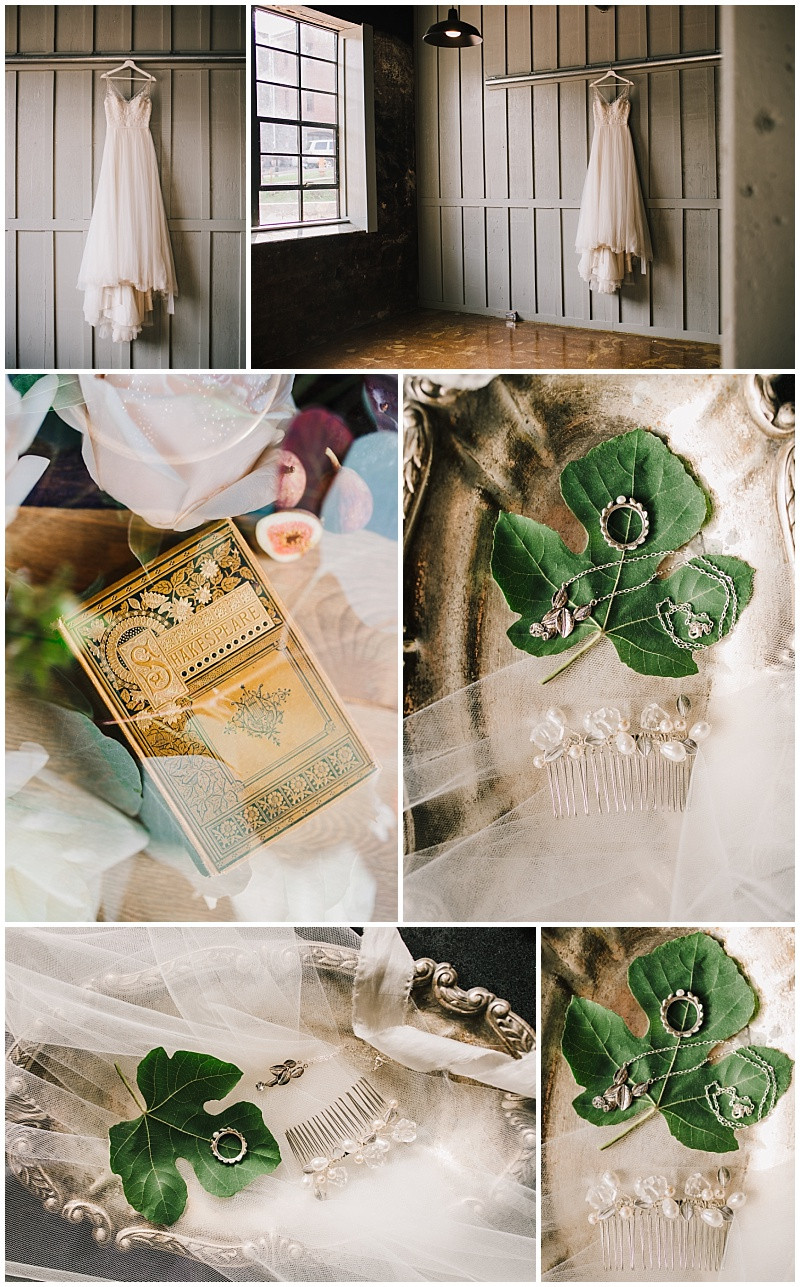 Shakespearean Wedding Details