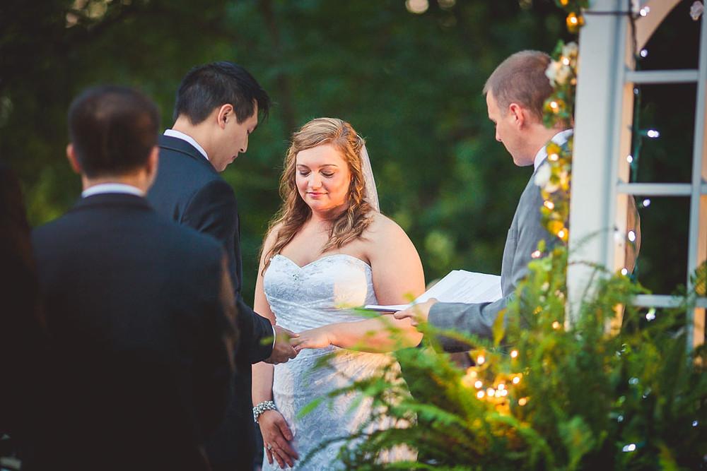 The I Dos Overhills Mansion Ceremony Maryland Wedding Photographer