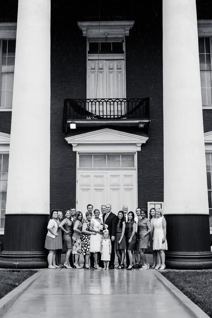 Charles Town Courthouse Wedding with Family Maryland Wedding Photographer - Katherine Elizabeth Photography