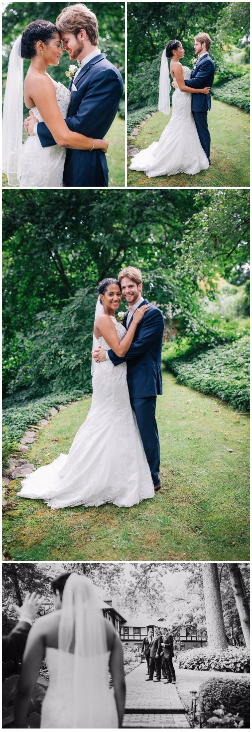 First Look Portraits at Gramercy Mansion captured by Katherine Elizabeth Photography