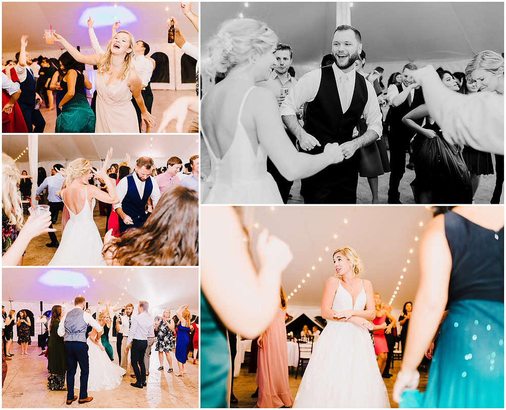Wedding Reception at Bohemia Overlook Wedding Baltimore Wedding Photographer