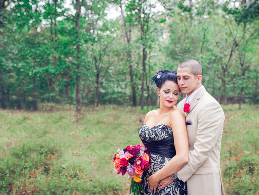 Catonsville, MD - Danielle and Victor - Edgy Backyard Wedding