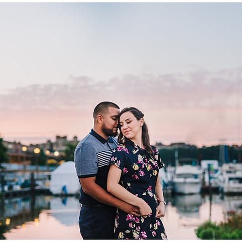 The Wharf DC Engagement | Liset + Marvin | Maryland Wedding Photographer