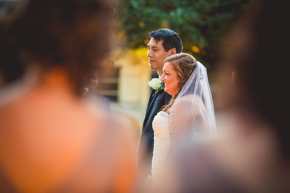 Overhills Mansion Ceremony Bride and Groom Maryland Wedding Photographer