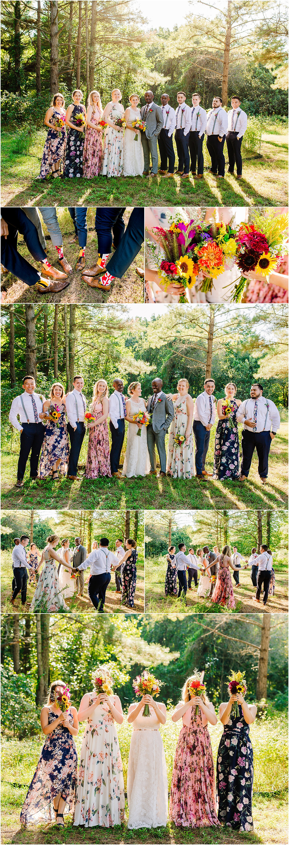 Adkins Arboretum Wedding