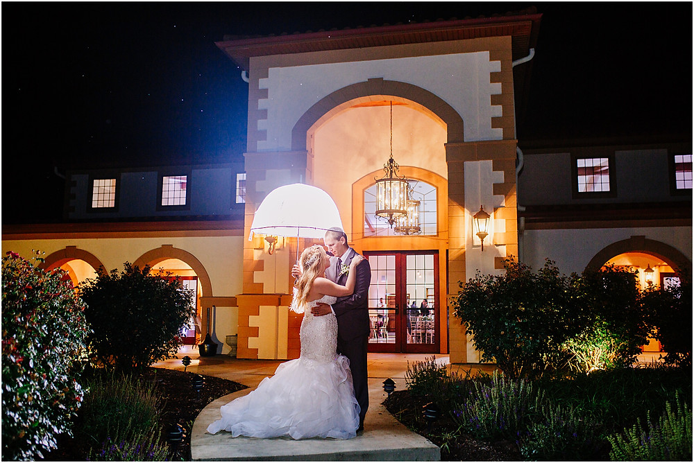 Night Portrait at Running Hare Vineyard - Annapolis Wedding Photographer