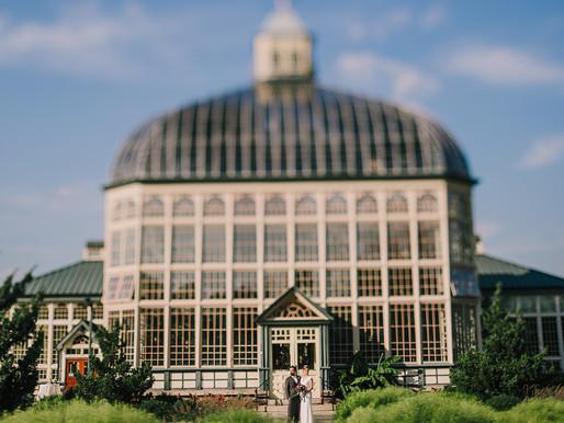 Rawlings Conservatory Wedding | Allison + Ryan | Baltimore Wedding Photography