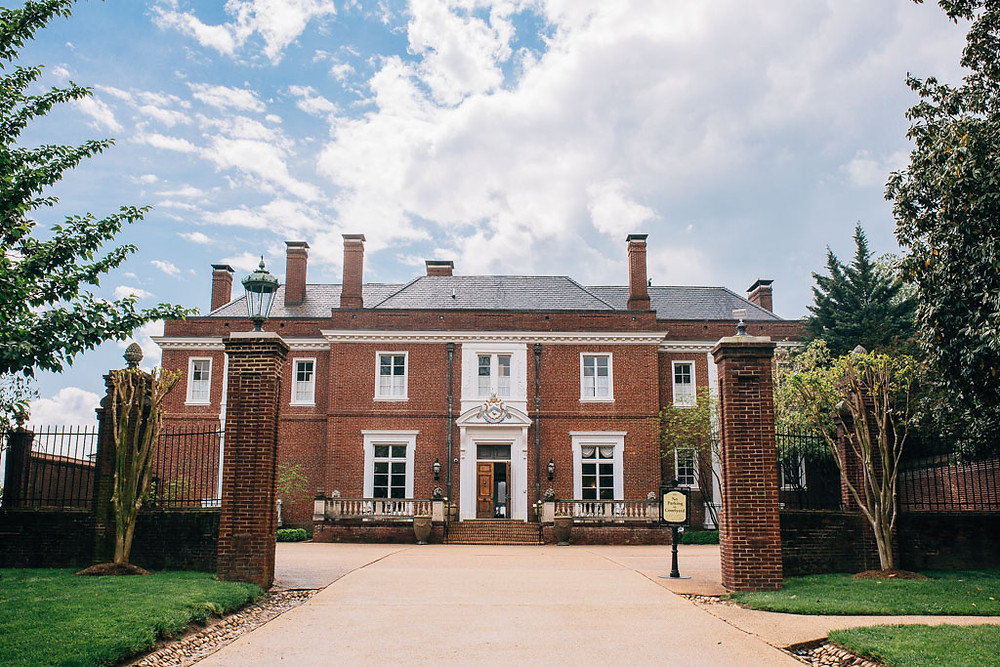 Oxon Hill Manor Front Entrance