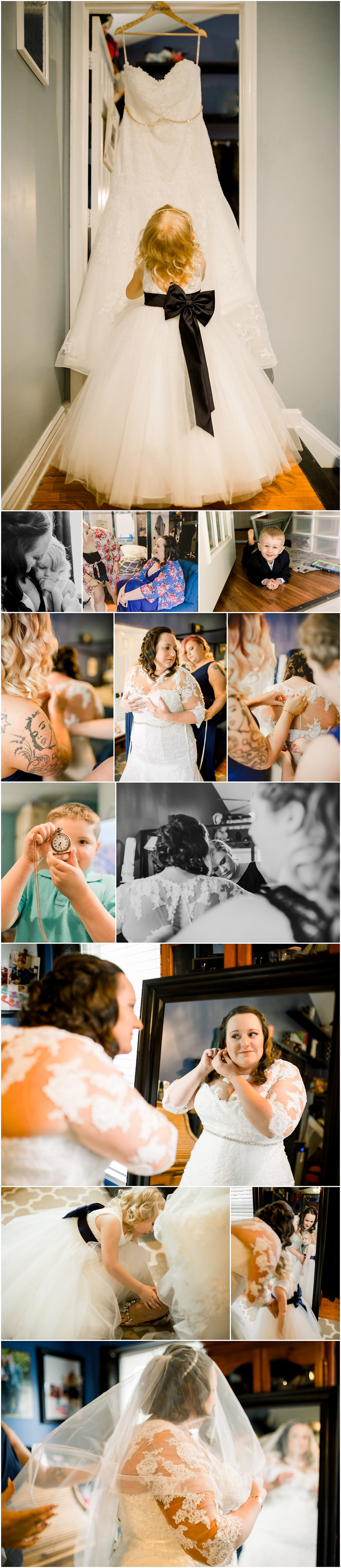 Bride getting ready with her daughter - Annapolis - Wedding Photography
